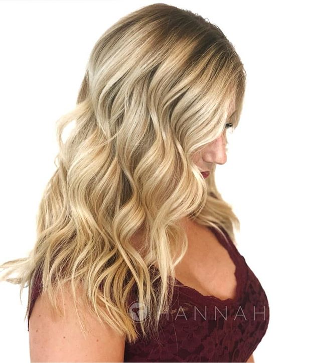 Jump into the holidays with a new look ! . @hbglosskc • Online booking at theglossarysalon.com or call us at 913-725-8520!!