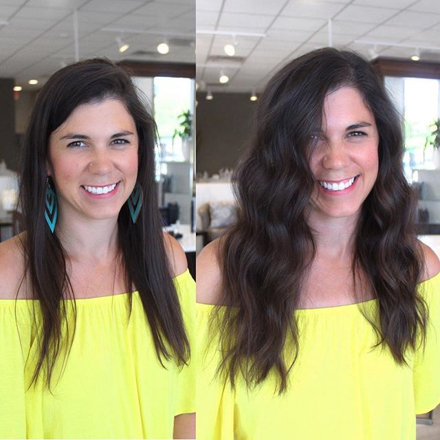 My dear friend Ashley! Feeling so good about herself // one row of @naturalbeadedrowsextensions . . Click the link in my bio for your own!